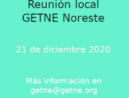 Reunión local GETNE Noroeste